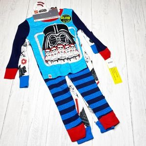 Disney Lego Star Wars Darth Vader 2 Cotton PJ Sets